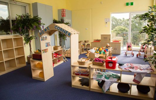 Indoor areas bursting with learning potential