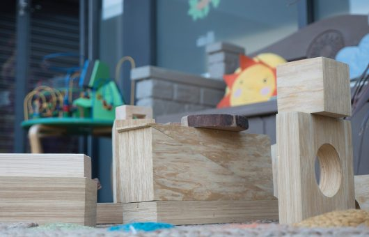 Construction play teaches fine motor skills and hand eye coordination